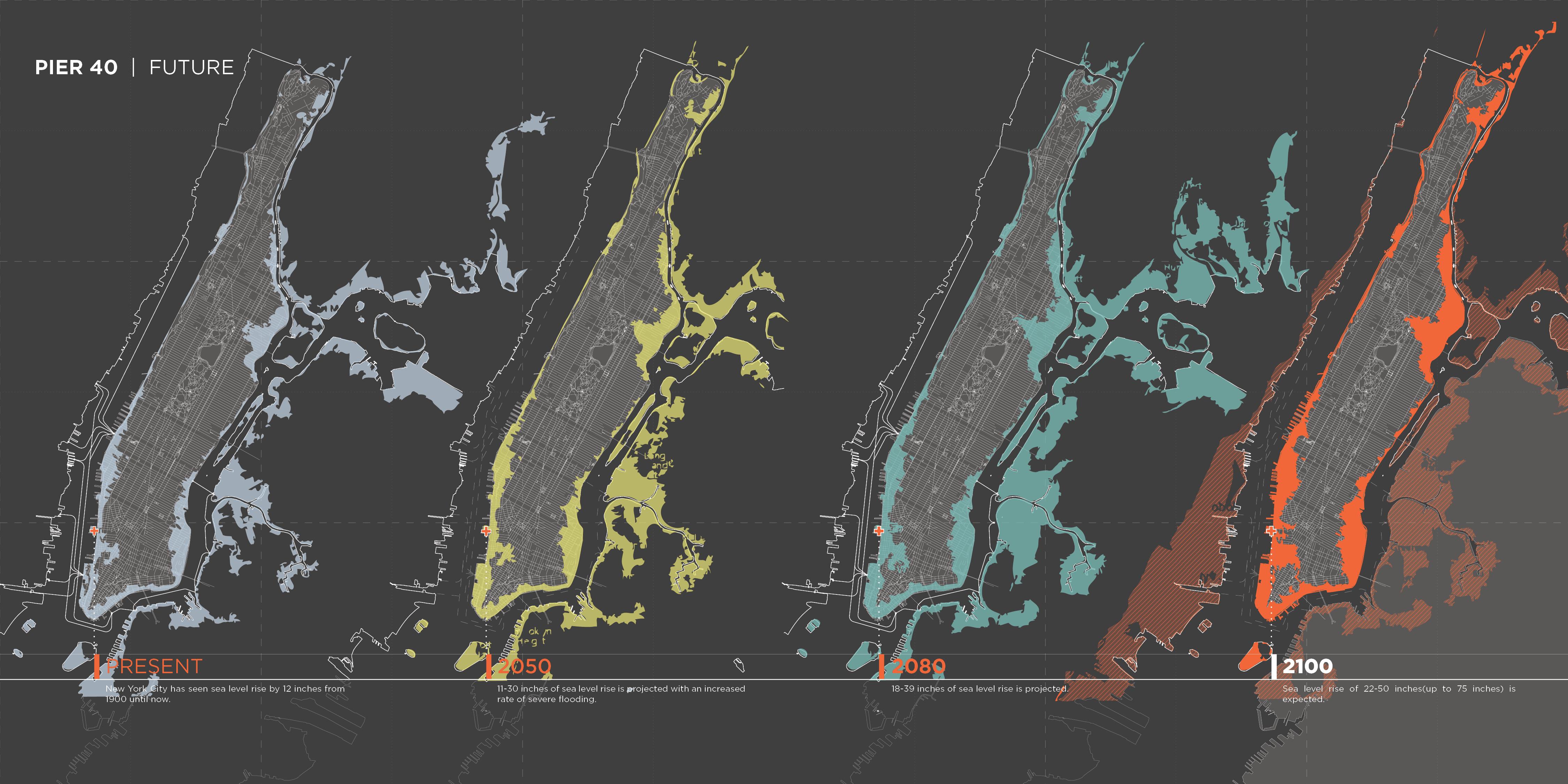 New York Subway Map 2100.Pier 40 2100 Dfa